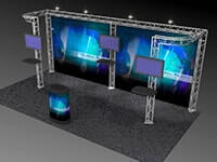 10' x 20' Truss Exhibit & Accessory Packages