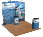 beautifulDISPLAYS Snap-Tube Layers™ 10' Exhibit Package #1003