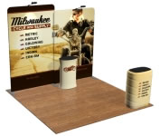 beautifulDISPLAYS Snap-Tube Layers™ 10' Exhibit Package #1004