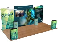 Fabric FACTORY™ Snap-Tube Layers™ 20' Exhibit Package #2005CH