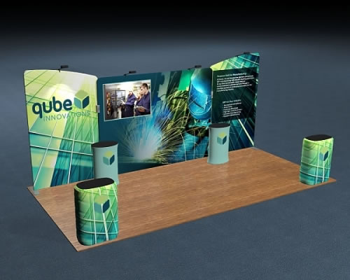 Snap-Tube Layers™ 20' Exhibit Package #2005