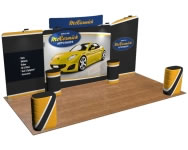 beautifulDISPLAYS Snap-Tube Layers™ 20' Exhibit Package #2006CH