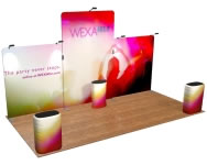 beautifulDISPLAYS Snap-Tube Layers™ 20' Exhibit Package #2010