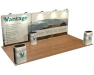 beautifulDISPLAYS Snap-Tube Layers™ 20' Exhibit Package #2011