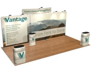 Fabric FACTORY™ Snap-Tube Layers™ 20' Exhibit Package #2011CH
