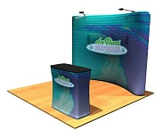 'Snap-Tube' Dye-Sub Printed Fabric Displays from BeautifulDisplays' Fabric FACTORY™