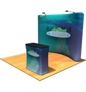 Fabric Graphic Displays from The Fabric FACTORY™ at BeautifulDisplays.com
