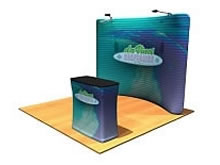 Snap-Tube™ Tension Fabric Displays from BeautifulDisplays' Fabric FACTORY™