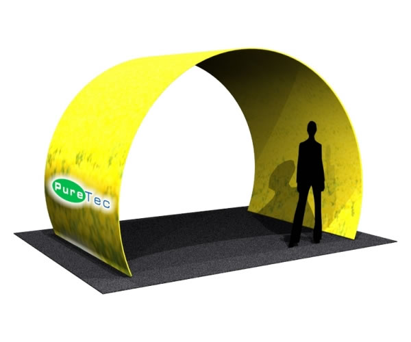 Fabric FACTORY 'Arch Room' Tension Fabric Event Structure