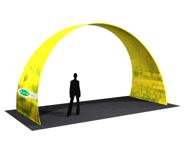 Fabric FACTORY 'Large Arch' Tension Fabric Event Structure