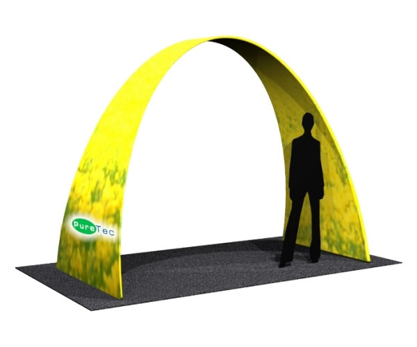 Fabric FACTORY 'Small Arch' Tension Fabric Event Structure