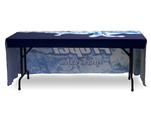 Full Color Dye-Sub Economy Table Cover for 6ft. Table