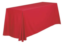 "Standard Throw Cover for 6' x 24"" Table"
