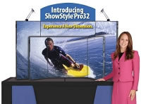 ShowStyle Pro32 Self-Packing Briefcase Display