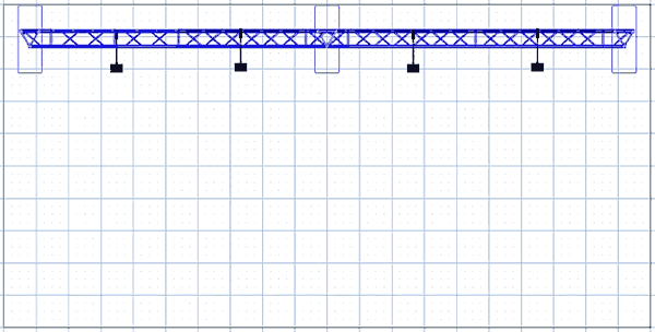 BA1 10' x 20' Truss Arch Kit Floor Plan