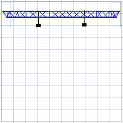 BA2 10' Truss Arch Kit Floor Plan