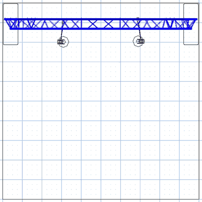 BA3 10' Truss Arch Kit Floor Plan