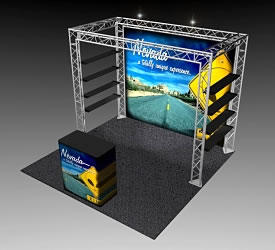 BK-101 10' x 10' Truss Exhibit and Accessory Package