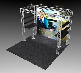 BeautifulDisplays BK-102 10' x 10' Aluminum Truss and Accessory Package
