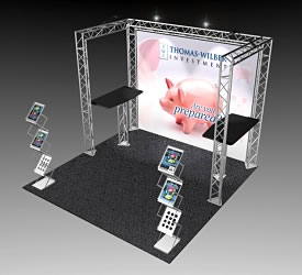 BK-11 10' x 10' Truss Exhibit and Accessory Package
