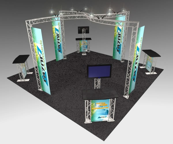 BK-131 20' x 20' Truss Exhibit and Accessory Package