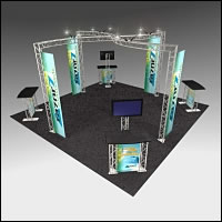 BeautifulDisplays BK-131 20' x 20' Aluminum Truss Display and Accessory Package