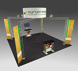 BK-141 20' x 20' Truss Exhibit and Accessory Package