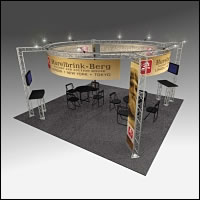 BeautifulDisplays BK-152 20' x 20' Aluminum Truss Display and Accessory Package