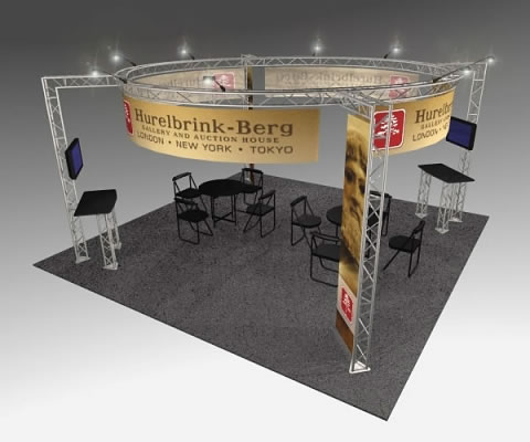 BK-152 20' x 20' Truss Exhibit and Accessory Package