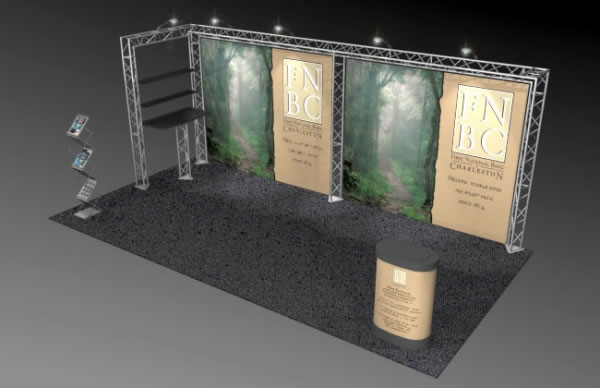 BK-211 10' x 20' Truss Exhibit and Accessory Package