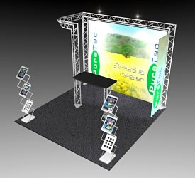 BeautifulDisplays BK-51 10' x 10' Aluminum Truss and Accessory Package
