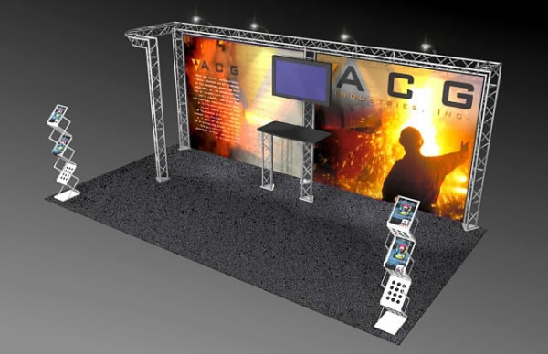 BK-511 10' x 20' Truss Exhibit and Accessory Package