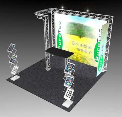 BK-51 10' x 10' Truss Exhibit and Accessory Package