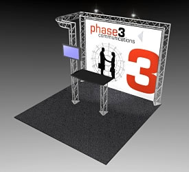 BK-52 10' x 10' Truss Exhibit and Accessory Package
