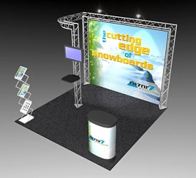 BeautifulDisplays BK-53 10' x 10' Aluminum Truss and Accessory Package