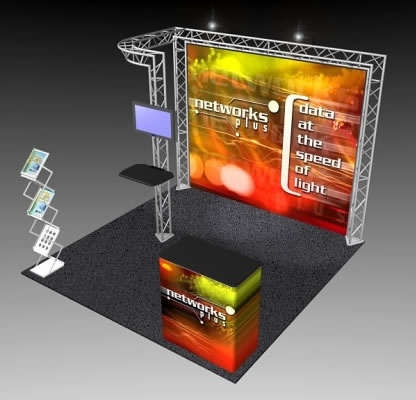 BK-54 10' x 10' Truss Exhibit and Accessory Package