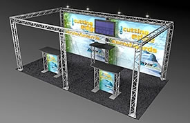 BK-711 10' x 20' Truss Exhibit and Accessory Package