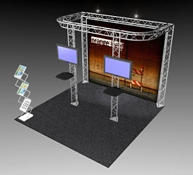 BeautifulDisplays BK-81 10' x 10' Aluminum Truss and Accessory Package
