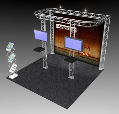 BK-81 10' x 10' Truss Exhibit and Accessory Package