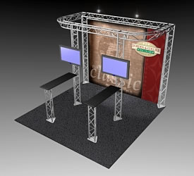 BK-82 10' x 10' Truss Exhibit and Accessory Package