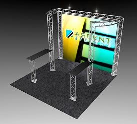 BeautifulDisplays BK-91 10' x 10' Aluminum Truss and Accessory Package