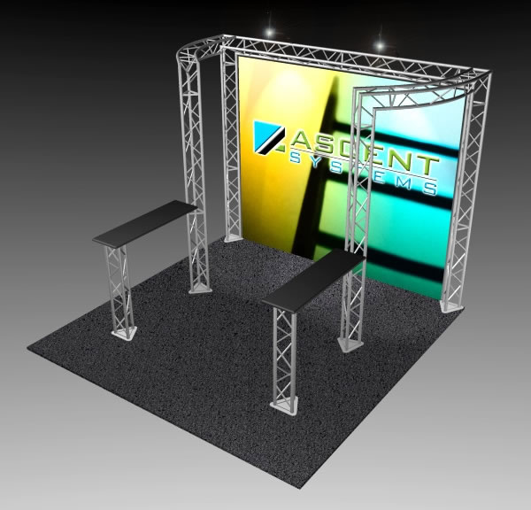 BK-91 10' x 10' Truss Exhibit and Accessory Package