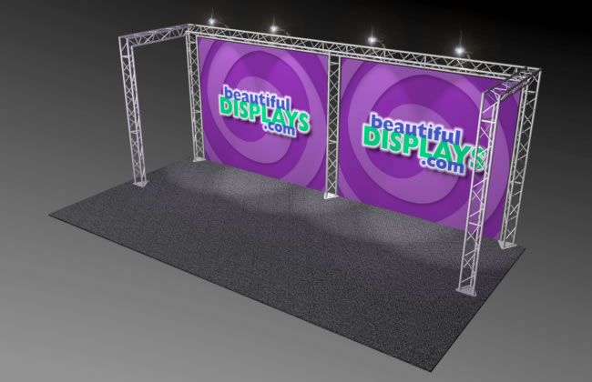 BK1 10' x 20' Truss Display