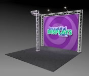 Nimlok® Trilok 10' x 10' Aluminum Truss Display Systems