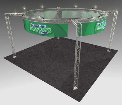 BK15MAX 20' x 20' Truss Kit  (as shown with cases, graphics & lights)