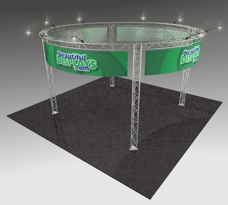 BK15 20' x 20' Truss Kit  (as shown with cases, graphics & lights)