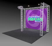 BK3-JL 10' x 10' Truss Kit with Cases, Graphic & Lights