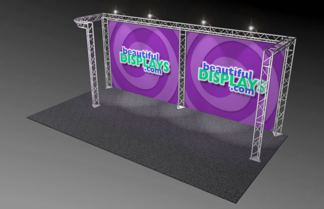 BK3 10' x 20' Truss Display