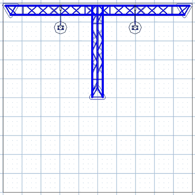 BK4-T 10' x 10' Truss Kit Floor Plan