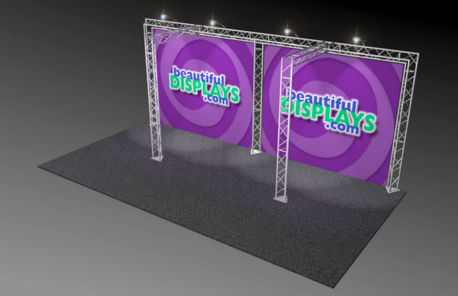 BK4 10' x 20' Truss Display